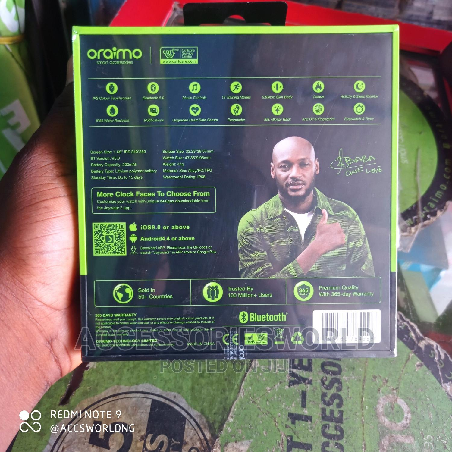 Oraimo Smart Watch Osw-16   Smart Watches & Trackers for sale in Ikeja, Lagos State, Nigeria