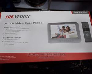 Hik Vision 7-Inch Video Door Phone | Security & Surveillance for sale in Lagos State, Ojo