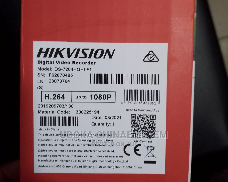 Hik Vision 4 Channels DVR Upto 1080p