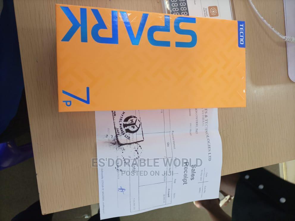 New Tecno Spark 7P 128 GB Gold | Mobile Phones for sale in Ugheli, Delta State, Nigeria