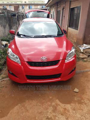Toyota Matrix 2010 Red | Cars for sale in Lagos State, Alimosho