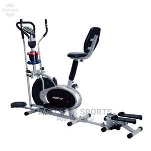 Orbitrac Bike With Steppter, Dumbells and Twister   Sports Equipment for sale in Lagos State, Surulere