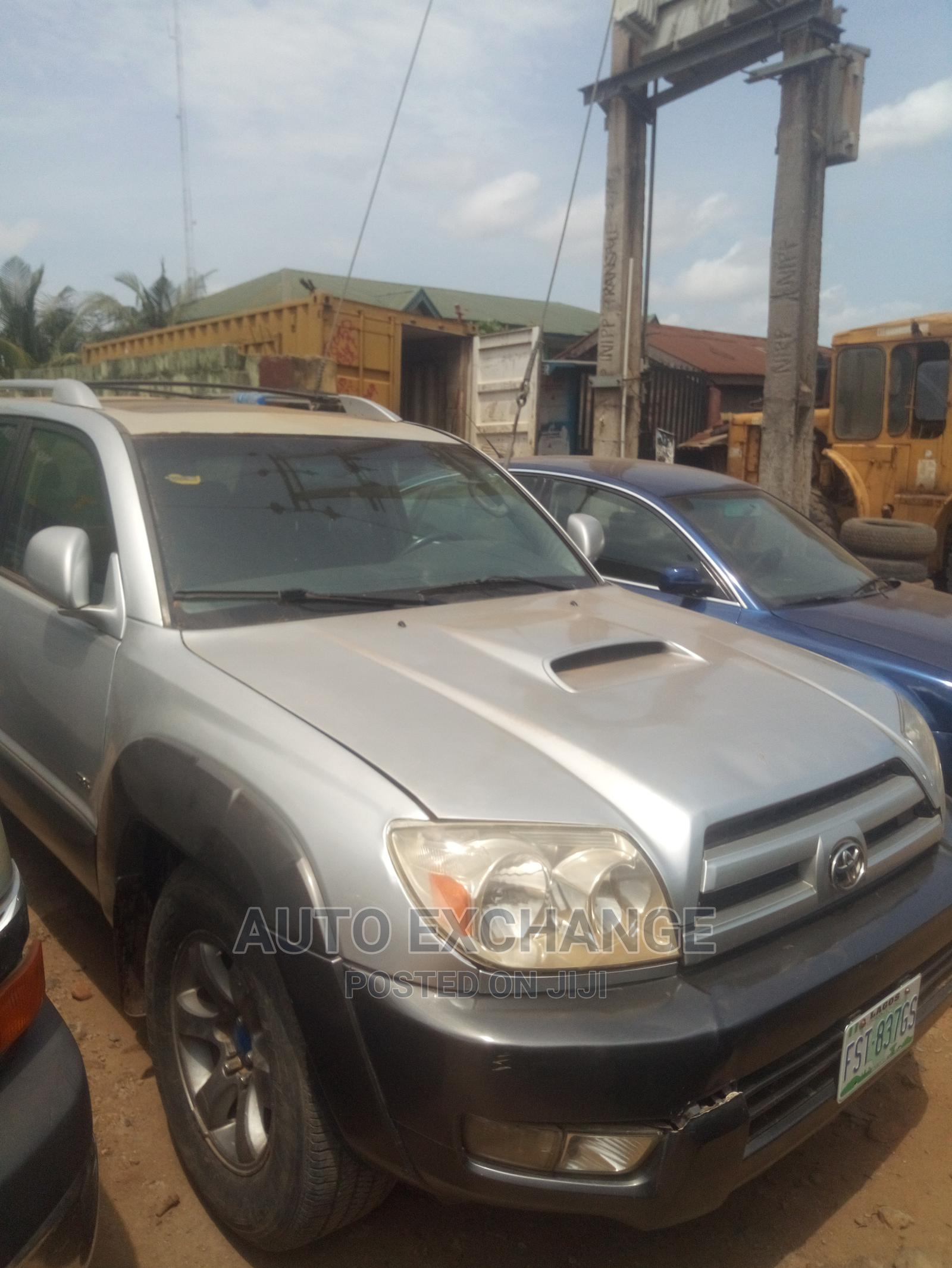 Archive: Toyota 4-Runner 2003 4.7 Silver