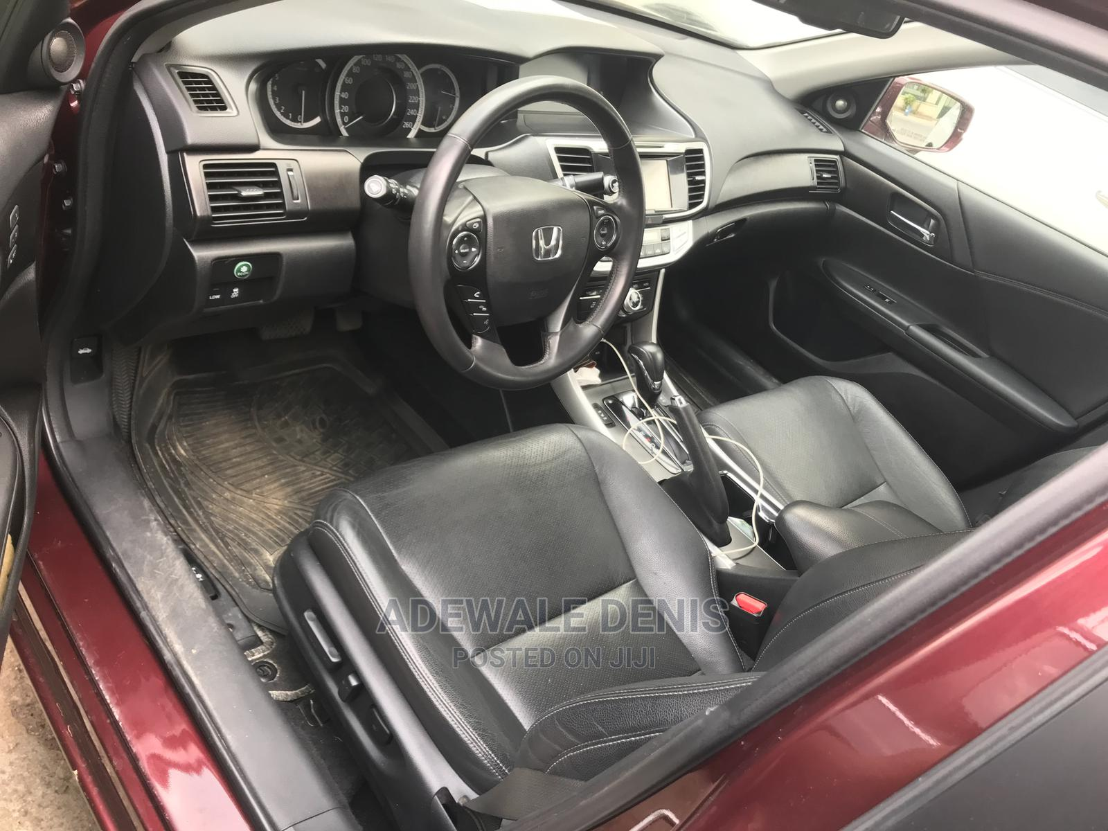 Honda Accord 2014 Red   Cars for sale in Ikeja, Lagos State, Nigeria
