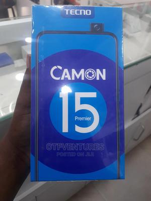 New Tecno Camon 15 Premier 128 GB Blue   Mobile Phones for sale in Abuja (FCT) State, Wuse 2
