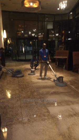 Granite Marble Polishing With Crystallization | Cleaning Services for sale in Lagos State, Ikeja