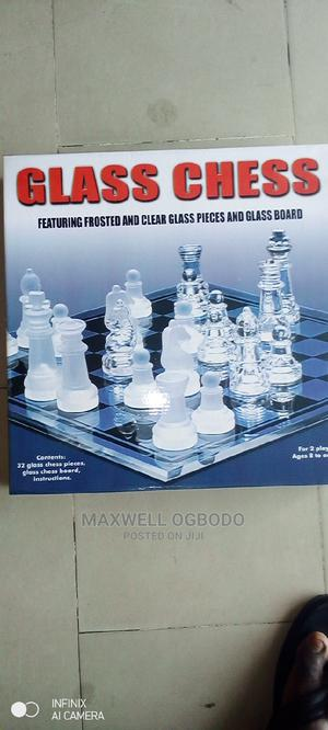 Glass Chess   Books & Games for sale in Lagos State, Surulere
