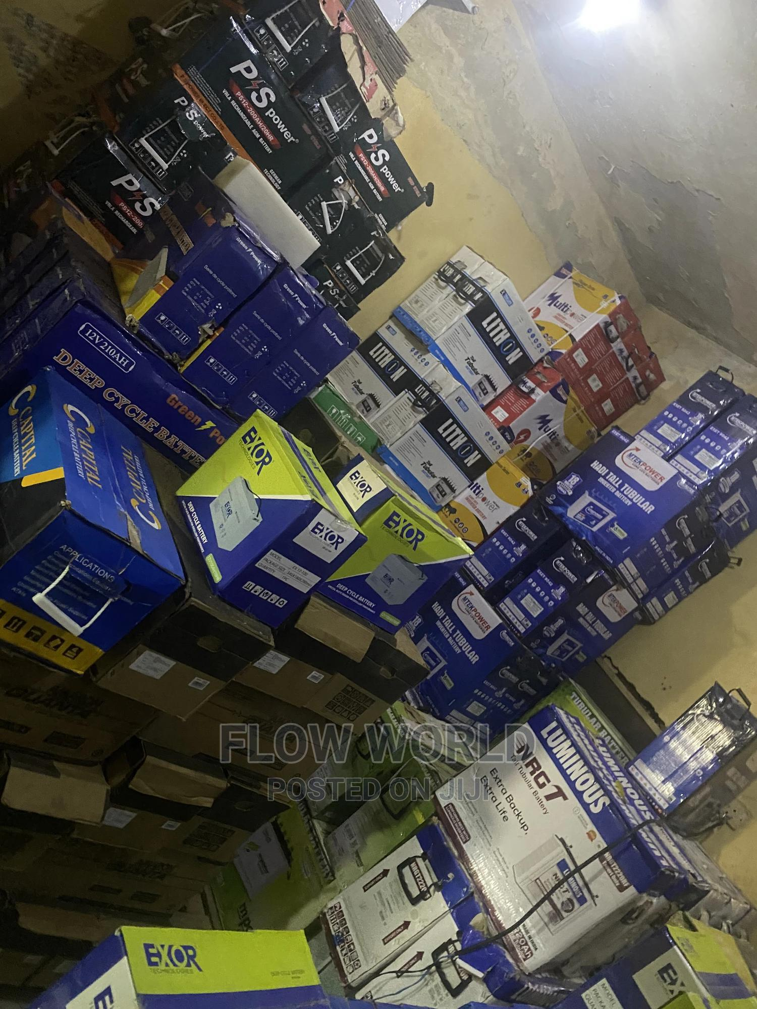 200ah Battery   Solar Energy for sale in Durumi, Abuja (FCT) State, Nigeria