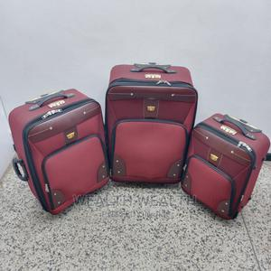 3 Set Wine Swiss Polo Trolley Luggage | Bags for sale in Lagos State, Ikeja