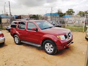 Nissan Pathfinder 2005 XE 4x4 Red | Cars for sale in Lagos State, Isolo