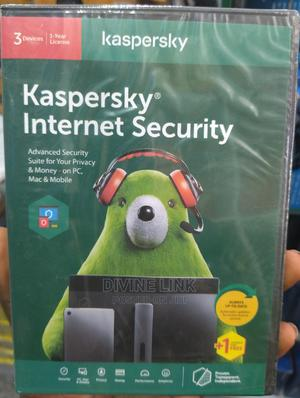 Kaspersky Internet Security 3+1 Device | Software for sale in Lagos State, Ikeja