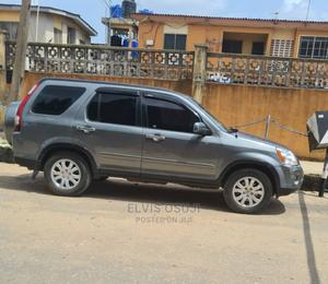 Honda CR-V 2006 LX 4WD Automatic Gray | Cars for sale in Lagos State, Oshodi