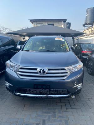 Toyota Highlander 2012 Limited Blue   Cars for sale in Lagos State, Surulere