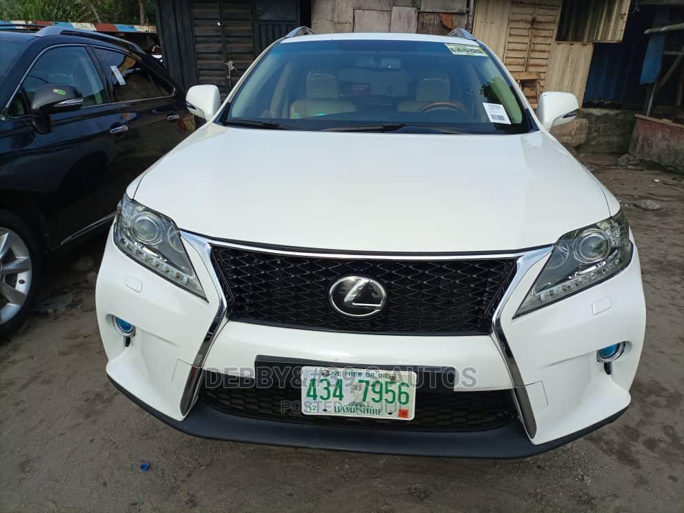 Lexus RX 2011 350 White