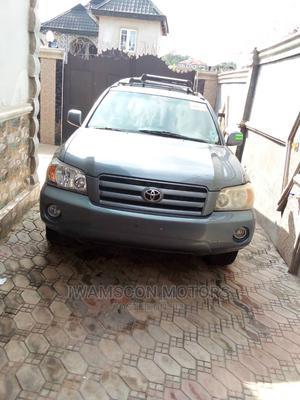 Toyota Highlander 2006 Limited V6 4x4 Blue | Cars for sale in Lagos State, Ikeja