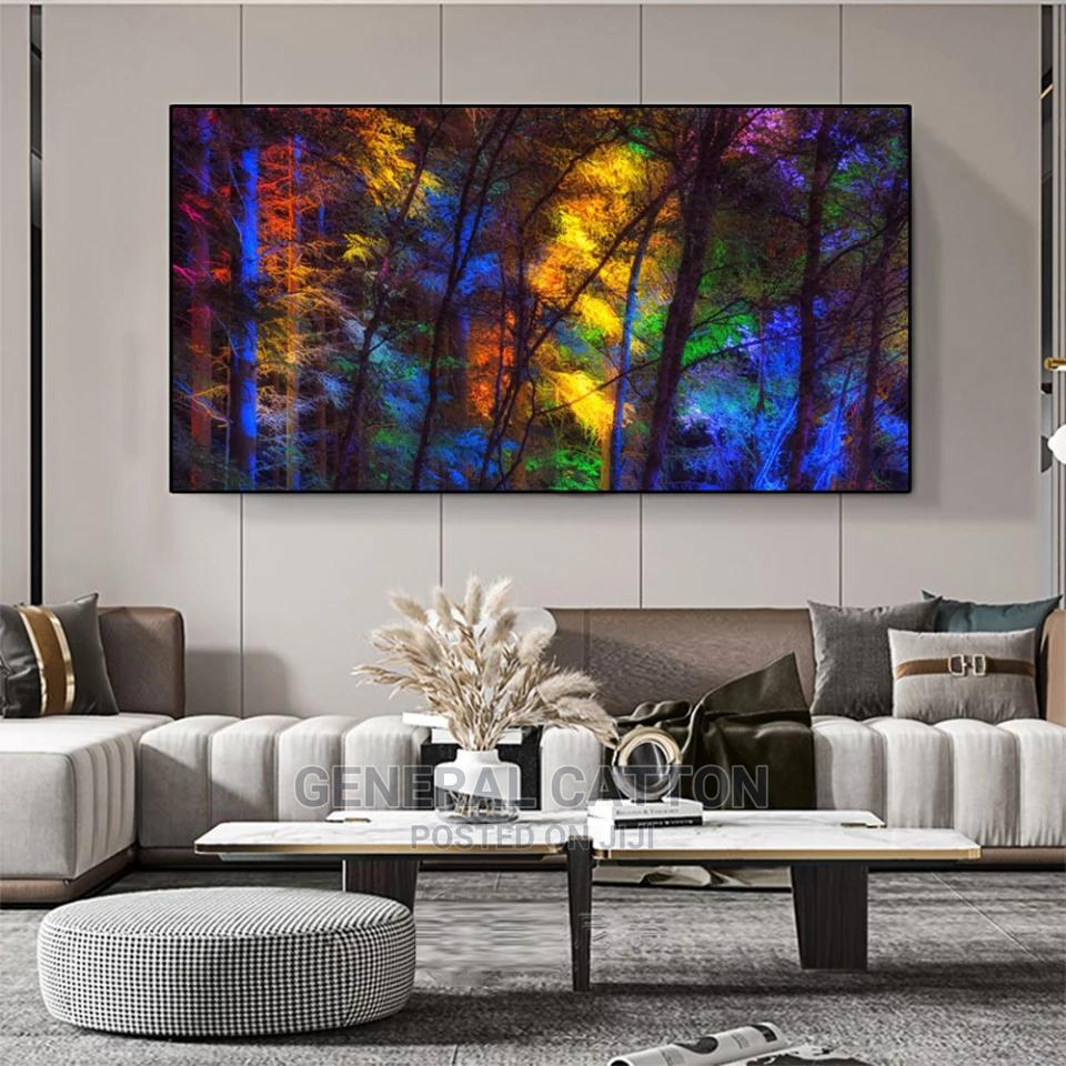 Colorful Forest Canvas Poster Art Prints