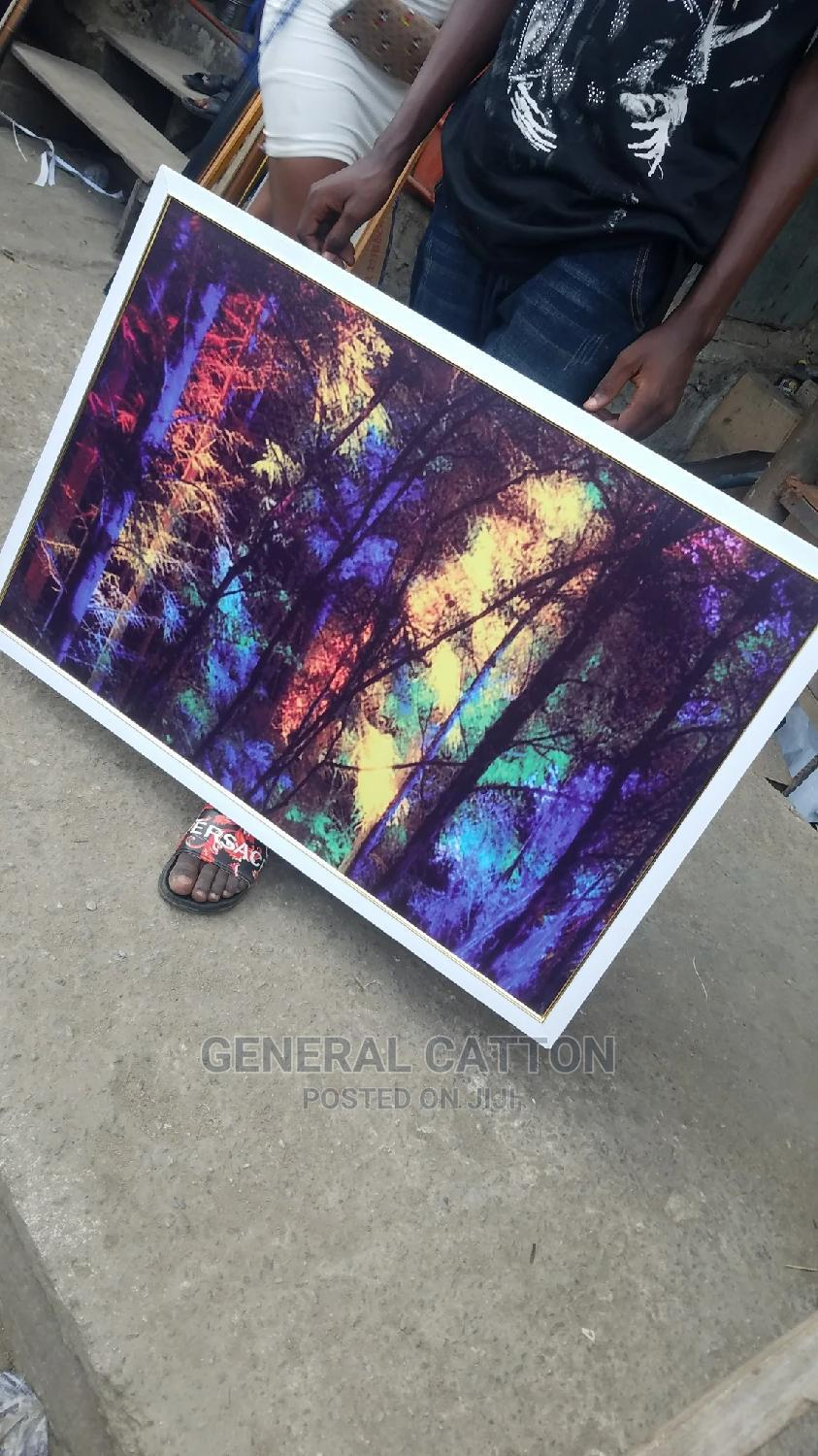 Colorful Forest Canvas Poster Art Prints | Arts & Crafts for sale in Victoria Island, Lagos State, Nigeria