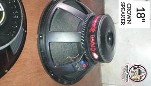 """High Quality 18"""" Inches Crown Sub Speaker With Double Magnet 