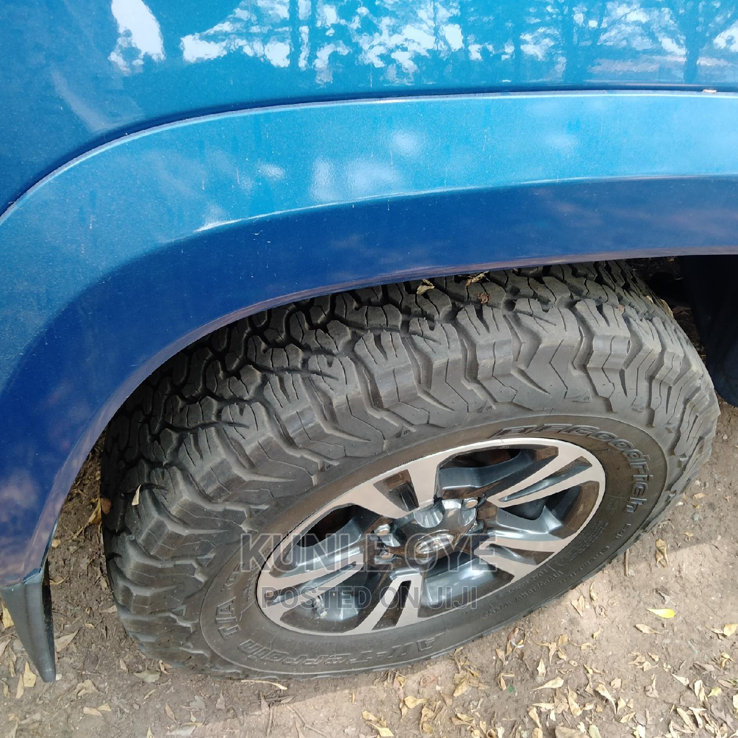 Toyota Tacoma 2016 4dr Double Cab Blue   Cars for sale in Ikeja, Lagos State, Nigeria