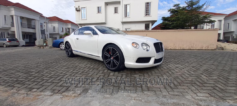 Bentley Continental 2014 White