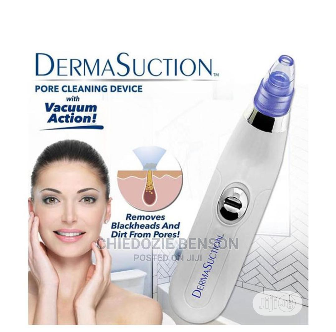 Derma Suction Pore Pimples Cleaner Black,Whitehead Remover