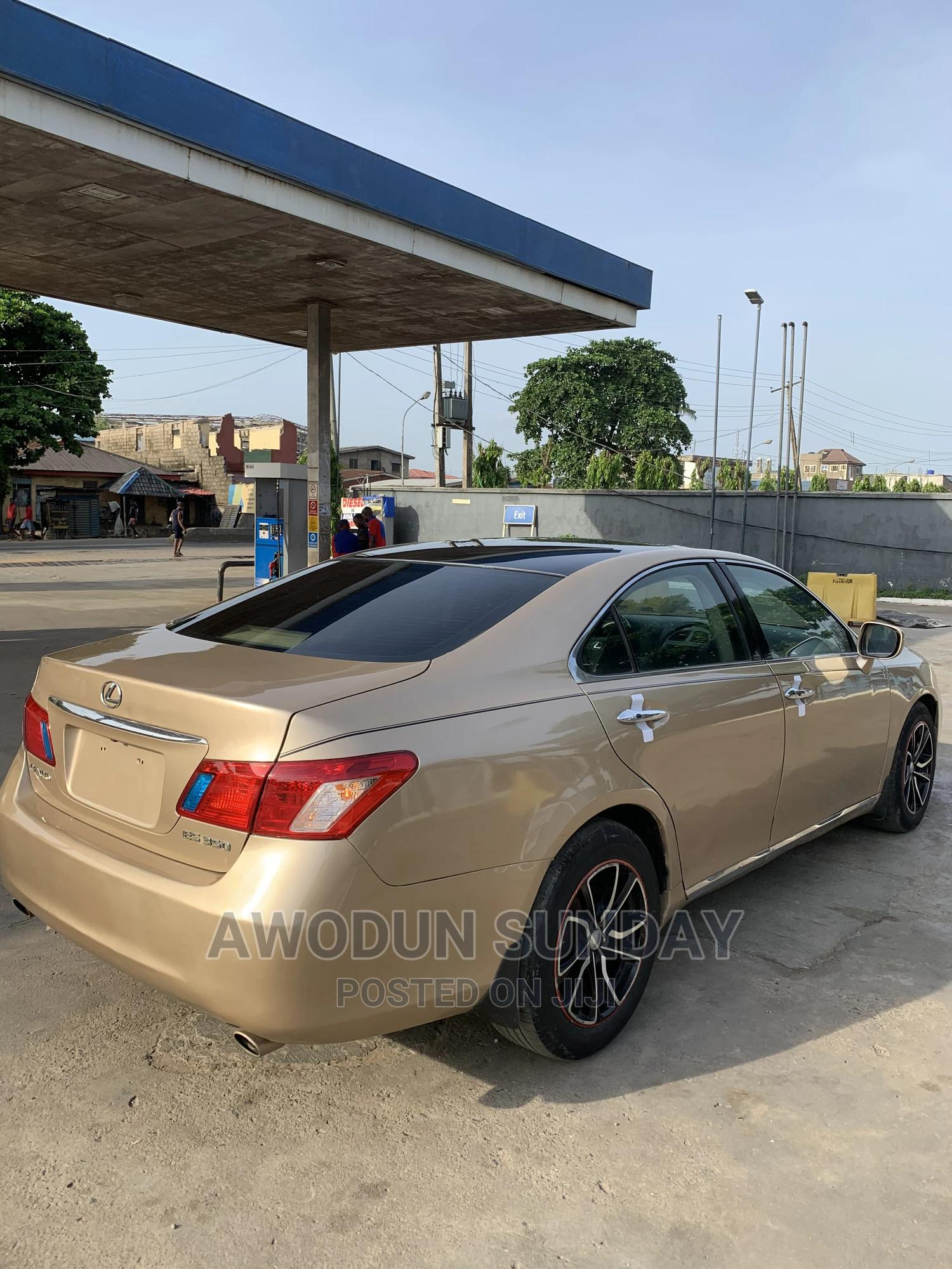 Lexus ES 2008 350 Gold   Cars for sale in Agege, Lagos State, Nigeria