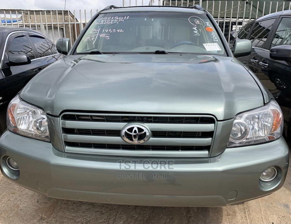 Toyota Highlander 2007 Green | Cars for sale in Ikeja, Lagos State, Nigeria