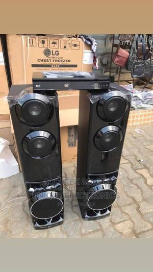 New LG Music Powerful Sound 1250w Dvd Play + Bluetooth   Audio & Music Equipment for sale in Lagos State, Ojo