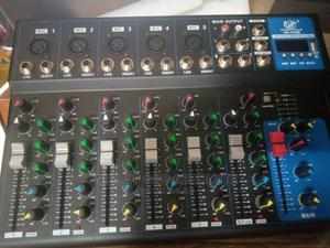 7 Channel LIVE Mixer With USB   Audio & Music Equipment for sale in Lagos State, Amuwo-Odofin