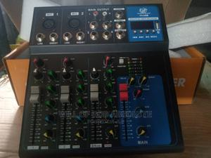 4 Channel LIVE Mixer With USB   Audio & Music Equipment for sale in Lagos State, Amuwo-Odofin