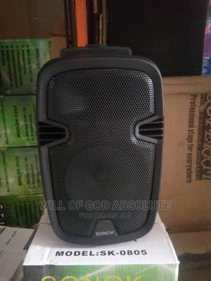 Portable Rechargeable 8inches PA System With USB,   Audio & Music Equipment for sale in Lagos State, Amuwo-Odofin