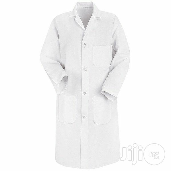Ready Made Laboratory White Coat | Clothing for sale in Port-Harcourt, Rivers State, Nigeria
