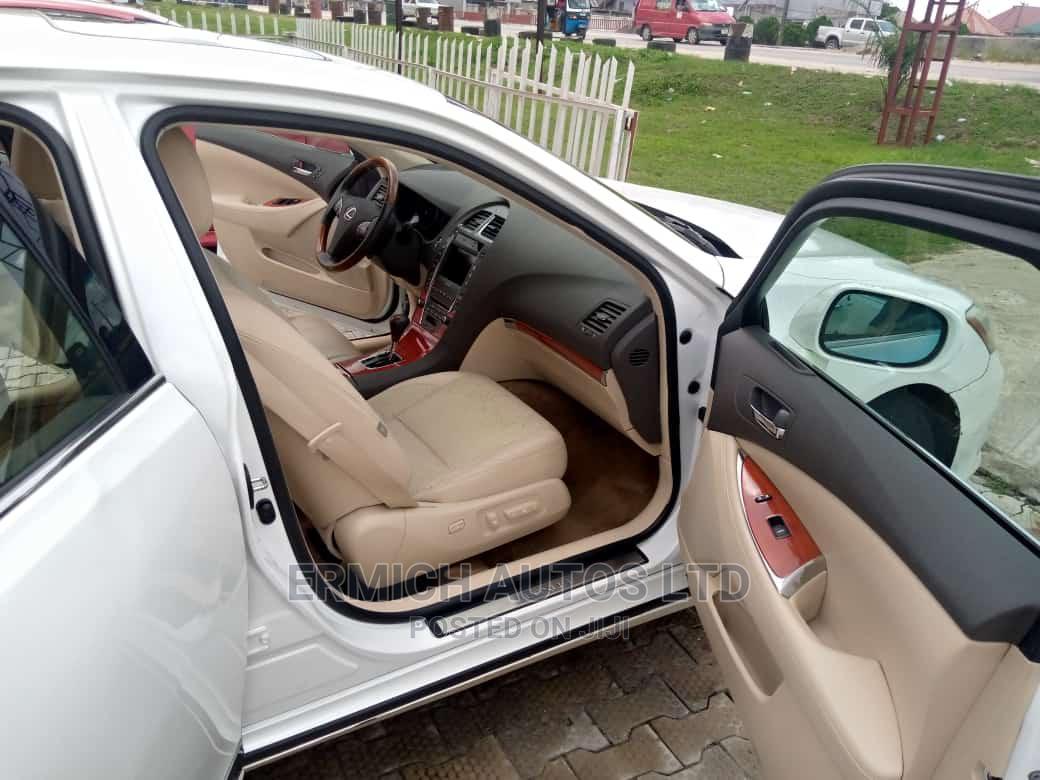 Lexus ES 2010 350 White | Cars for sale in Warri, Delta State, Nigeria
