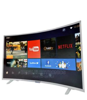 Polystar 43 Inch Curved Smart UHD TV - 43'   TV & DVD Equipment for sale in Abuja (FCT) State, Gwarinpa
