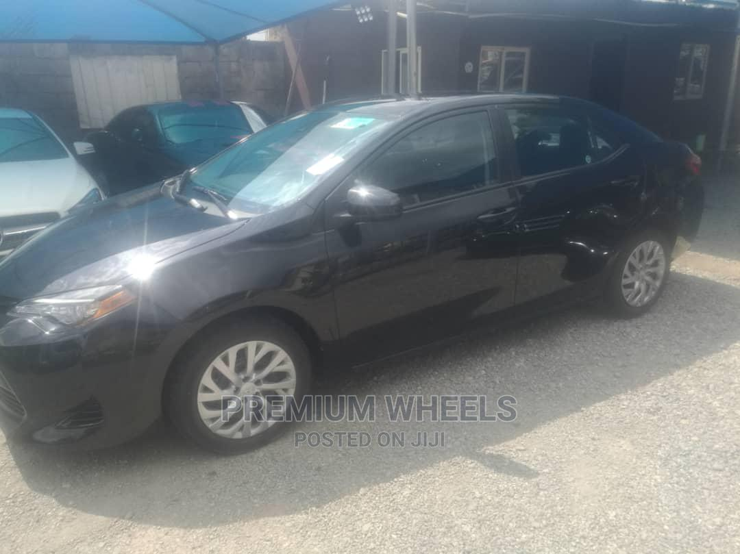 Toyota Corolla 2018 LE (1.8L 4cyl 2A) Black   Cars for sale in Wuse, Abuja (FCT) State, Nigeria