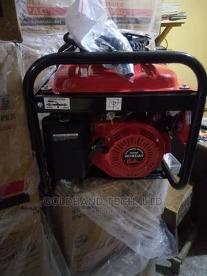 Honday 4.5kva Automatic Generator With Tyres, Key, Handle | Electrical Equipment for sale in Lagos State, Agege
