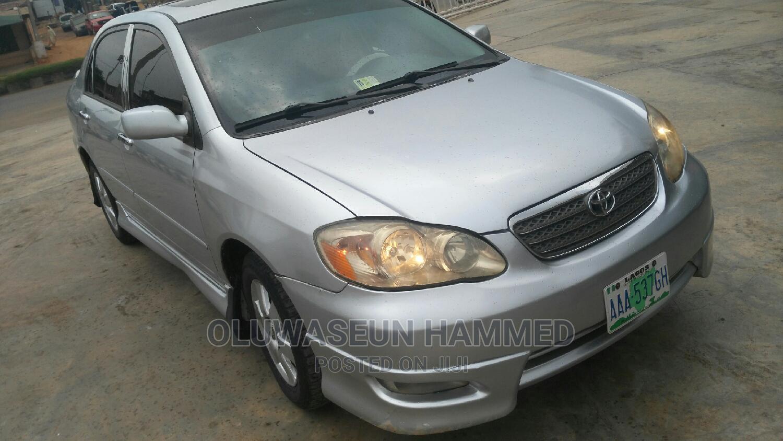Toyota Corolla 2007 Silver | Cars for sale in Sagamu, Ogun State, Nigeria