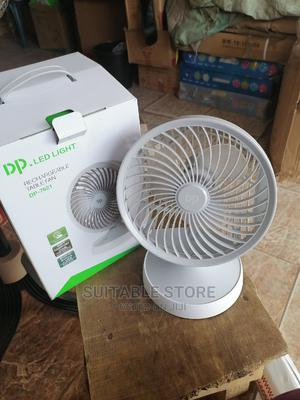 5 Inch Ball Shape Rechargeable Table Fan   Home Appliances for sale in Lagos State, Oshodi