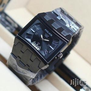 Police Black Chain Watch | Watches for sale in Lagos State, Lagos Island (Eko)