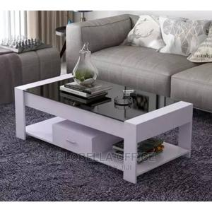 Glass Centre Table With Drawer   Furniture for sale in Lagos State, Yaba