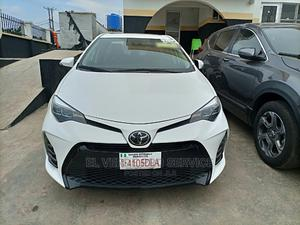 Toyota Corolla 2019 SE (1.8L 4cyl 2A) White   Cars for sale in Lagos State, Ojodu