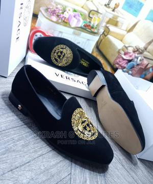 Versace Suede Shoe for Men's | Shoes for sale in Lagos State, Lagos Island (Eko)