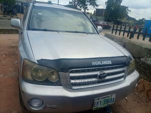 Toyota Highlander 2004 Limited V6 FWD Silver | Cars for sale in Lagos State, Alimosho