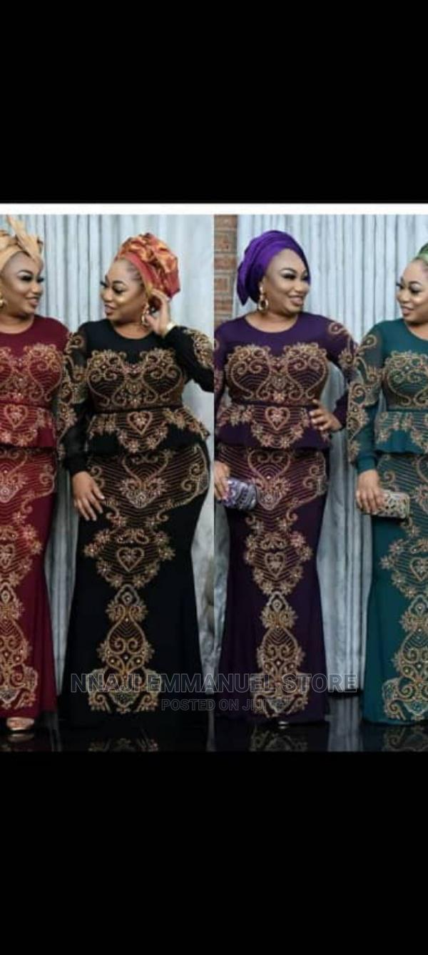 Quality Female Long Gown