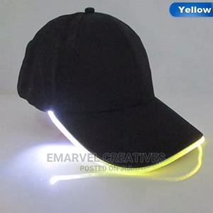 LED Light Baseball Caps Fashion Unisex Solid Color LED   Clothing Accessories for sale in Lagos State, Surulere
