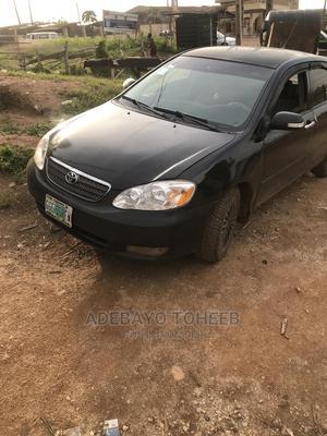 Toyota Corolla 2003 Sedan Black | Cars for sale in Ogun State, Odeda