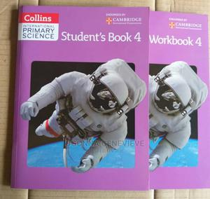 Collins International Primary Science Book 4 And Workbook 4 | Books & Games for sale in Lagos State, Yaba