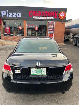 Honda Accord 2010 Sedan EX Automatic Black   Cars for sale in Lagos State, Surulere