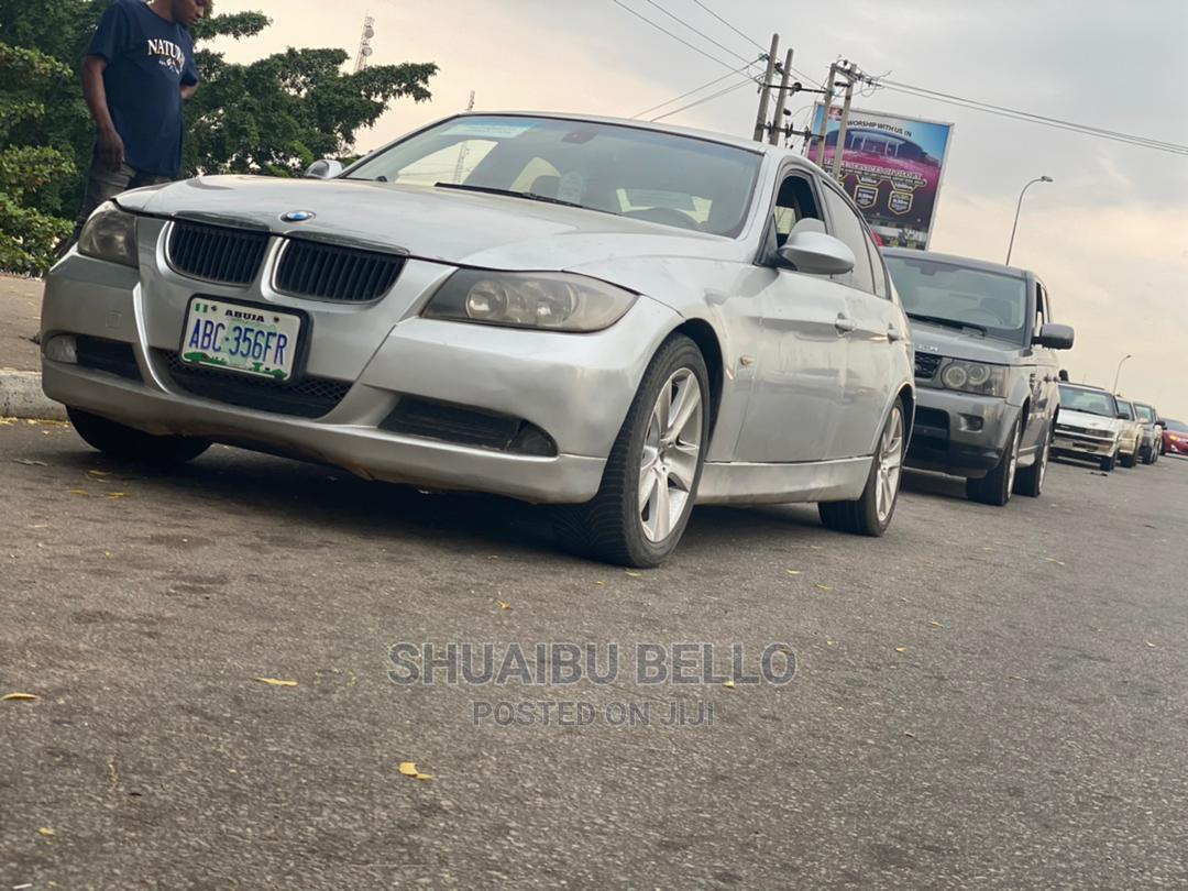 BMW 320i 2008 Silver   Cars for sale in Central Business Dis, Abuja (FCT) State, Nigeria