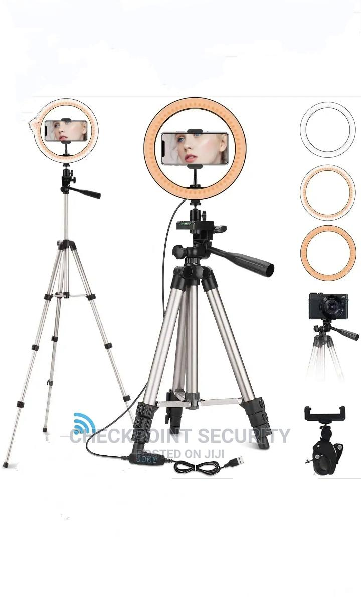 20CM Ring Light With Tripod Stand Holder